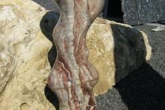 Skulptur2 aus Lahnmarmor Bongard
